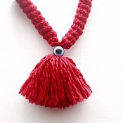 Для домашних животных, handmade. Livemaster - original item Amulet for a dog 30 cm (with the Turkish eye). Handmade.