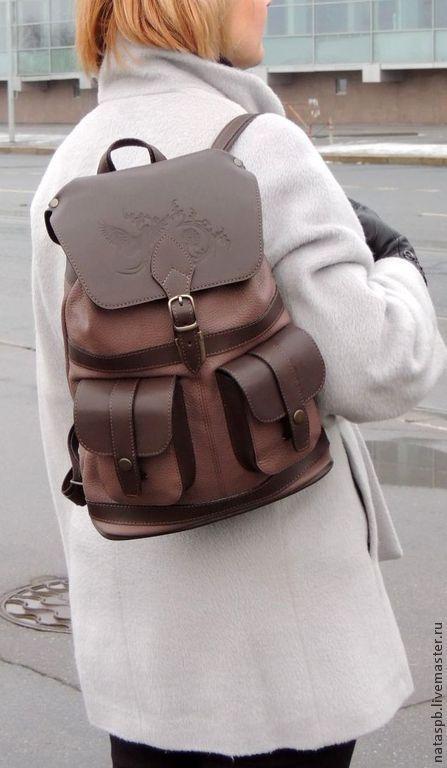 Рюкзак «Линда» - это стильный аксессуар на все сезоны. Рюкзачок такой же функциональный и практичный, как внешне особенный и эффектный.