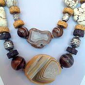 Украшения handmade. Livemaster - original item Necklace multi-row in the ethnic style of the Polovtsian steppe... Handmade.