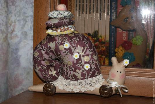 Куклы Тильды ручной работы. Ярмарка Мастеров - ручная работа. Купить Тильда улитка.  Handmade. Тильда улитка, хлопок