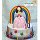 """Персональные подарки ручной работы. Ярмарка Мастеров - ручная работа. Купить Фигурка для торта """"Принцесса"""". Handmade. Подарок, торт, сувенир"""