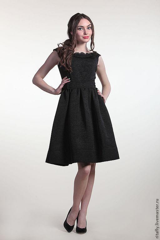 платье из шелка в ретро стиле. Платье на выпускной или на корпоратив. Очень красивое вечернее шелковое платье