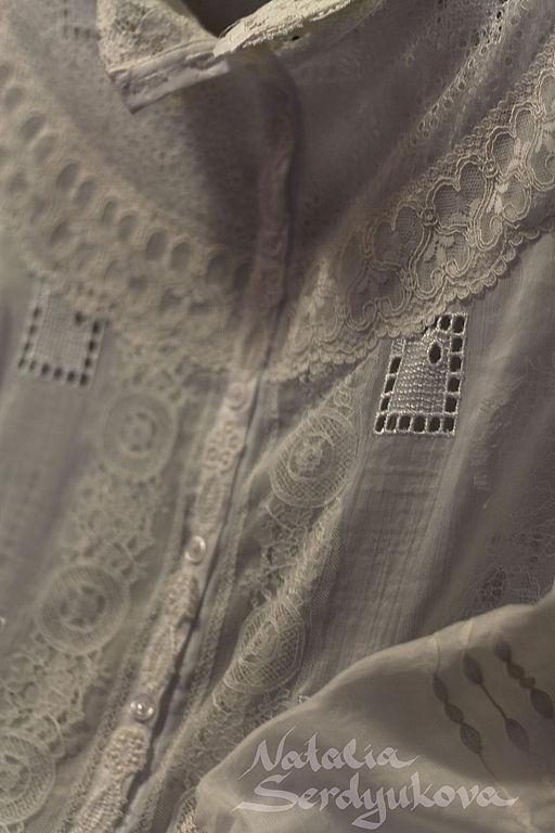 Кружевная блузка, Блузки, Москва, Фото №1