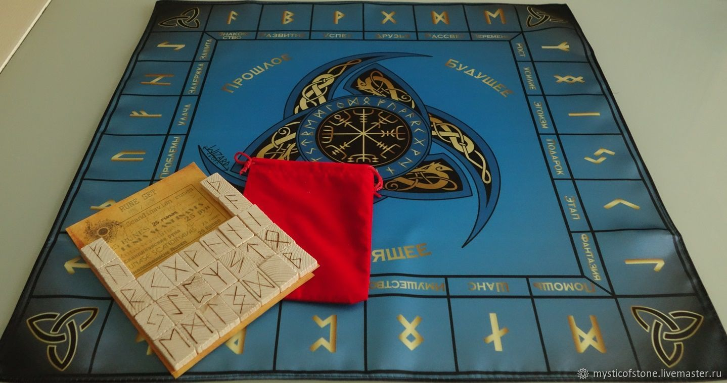 Tablecloth runic predictive, Runes, Moscow,  Фото №1