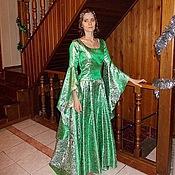Субкультуры ручной работы. Ярмарка Мастеров - ручная работа Изумрудное эльфийское платье. Handmade.