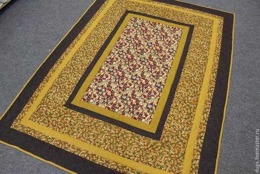 Текстиль, ковры ручной работы. Ярмарка Мастеров - ручная работа. Купить Одеяло для мужчины «Мужская беседа» № 1065. Handmade.
