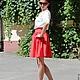 Блузки ручной работы. Летний комплект юбка и блузка. Ирина ' Ирискино ателье '. Интернет-магазин Ярмарка Мастеров.