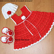 Работы для детей, handmade. Livemaster - original item set for girls Rose Bouquet. Handmade.