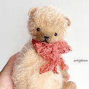 Куклы и игрушки ручной работы. Ярмарка Мастеров - ручная работа Мишка Тедди (18 см) Подарок девушке. Handmade.