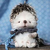 Куклы и игрушки ручной работы. Ярмарка Мастеров - ручная работа Ежик Веня Тедди. Handmade.