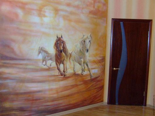 Животные ручной работы. Ярмарка Мастеров - ручная работа. Купить роспись стен. Handmade. Роспись стен и мебели, роспись на заказ