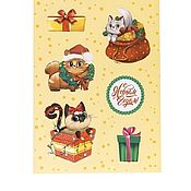Сувениры и подарки handmade. Livemaster - original item Paper stickers