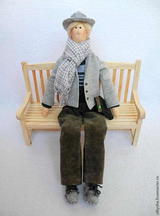 Куклы Тильды ручной работы. Ярмарка Мастеров - ручная работа. Купить Мальчик Сава в стиле тильда. Handmade. Портретная кукла