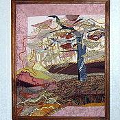 """Картины и панно ручной работы. Ярмарка Мастеров - ручная работа Диптих """"Осенний листопад"""". Handmade."""