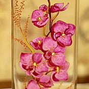 """Для дома и интерьера ручной работы. Ярмарка Мастеров - ручная работа Ваза """"Орхидеи"""" (0123). Handmade."""