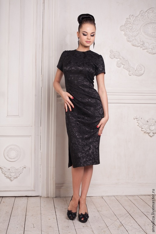 Retro dress in the style of the 50s 'Audrey', Dresses, Moscow,  Фото №1