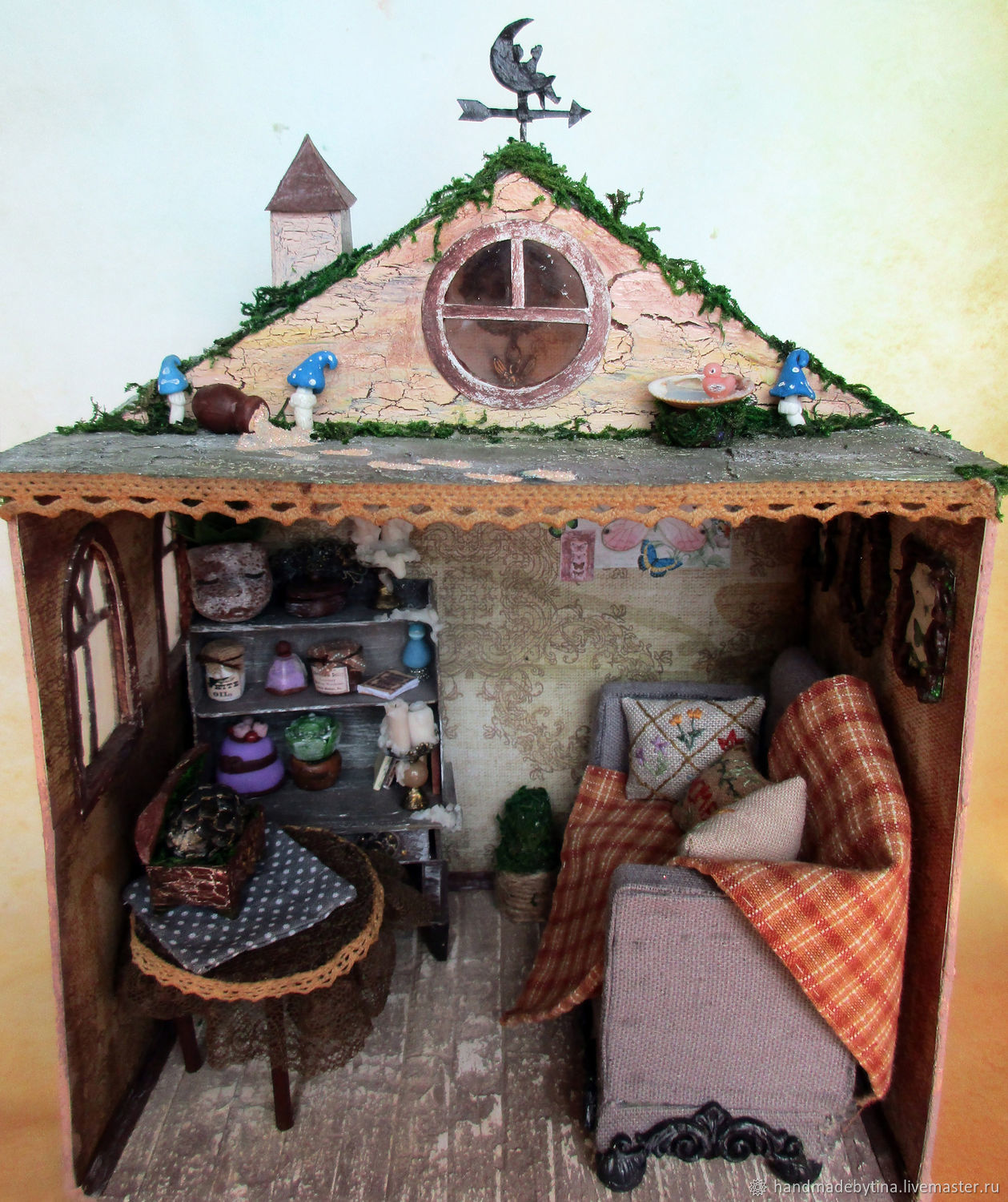 Forest fairy house, Roomboxes, Moscow,  Фото №1