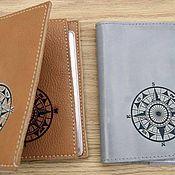 Канцелярские товары handmade. Livemaster - original item Covers for the passport and car documents. Handmade.