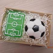 """Косметика ручной работы. Ярмарка Мастеров - ручная работа набор мыла """"Любителю футбола..."""". Handmade."""