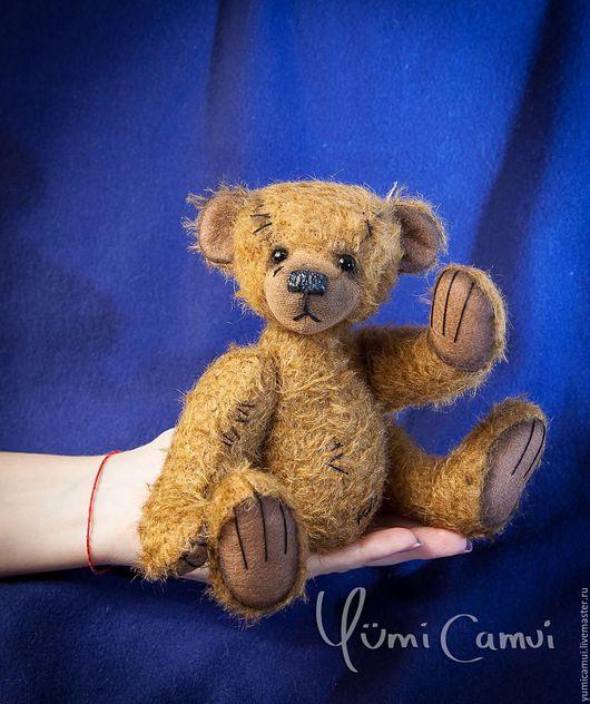 Мишки Тедди ручной работы. Ярмарка Мастеров - ручная работа. Купить Винтажный тедди медведь Гоша.. Handmade. Коричневый, мишутка