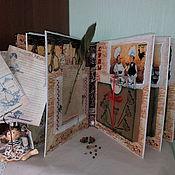 Подарки к праздникам handmade. Livemaster - original item Recipe book-box