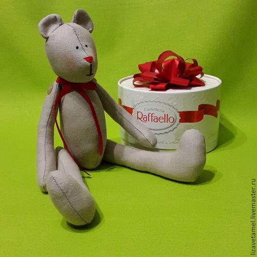 Куклы Тильды ручной работы. Ярмарка Мастеров - ручная работа. Купить Тильда мишка. Handmade. Разноцветный, мишка