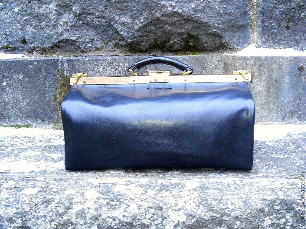 Саквояж мужской из натуральной кожи Mr.KING, Мужские сумки, Дубна, Фото №1