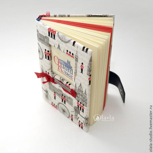 """Блокноты ручной работы. Ярмарка Мастеров - ручная работа. Купить """"Английский"""" блокнот. Handmade. Блокнот ручной работы, подарок"""