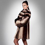 Одежда handmade. Livemaster - original item Fur Coat Mink Ombre. Handmade.