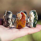 Bead bracelet handmade. Livemaster - original item Agate (bracelets) (37). Handmade.
