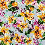 Материалы для творчества handmade. Livemaster - original item Fabric: Viscose Italian plaid shirt fabric. Handmade.