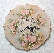 Для дома и интерьера handmade. Livemaster - original item Wall clock, large,