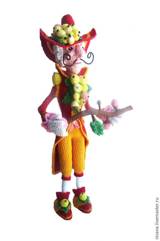 """Сказочные персонажи ручной работы. Ярмарка Мастеров - ручная работа. Купить МК """"Граф Смородин"""". Handmade. Разноцветный, модный аксессуар"""