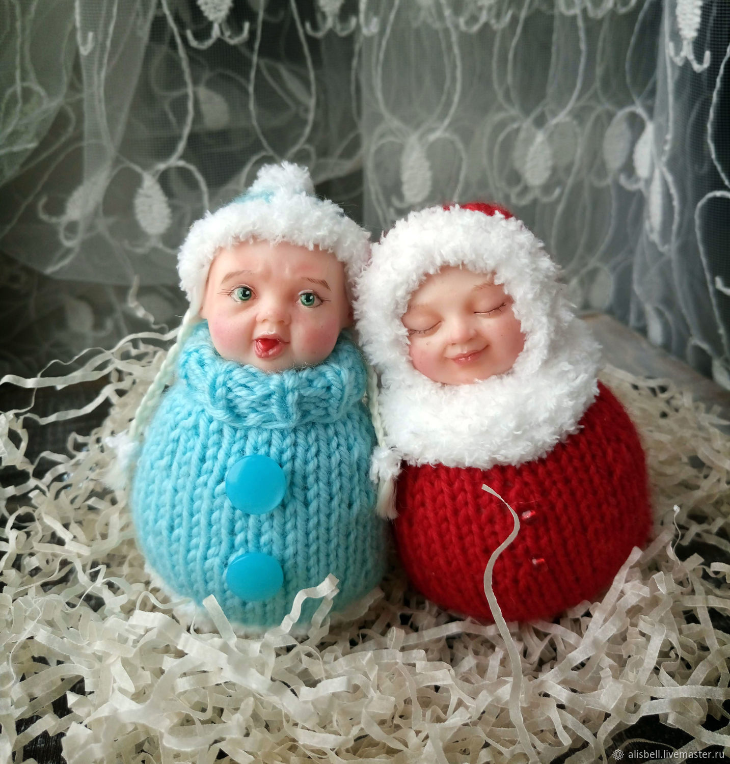 Dolls and dolls: Christmas toys Kid New year and snow maiden, Dolls, Barnaul,  Фото №1