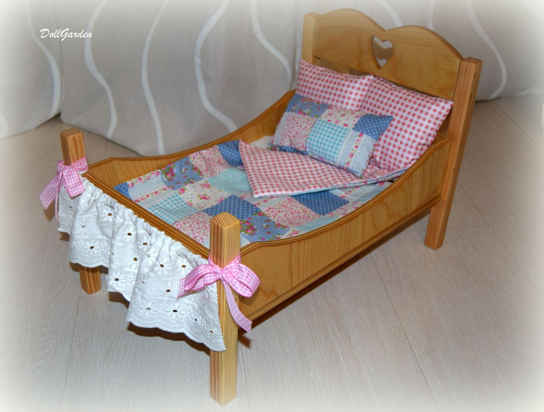 Кровать для куклы мастер