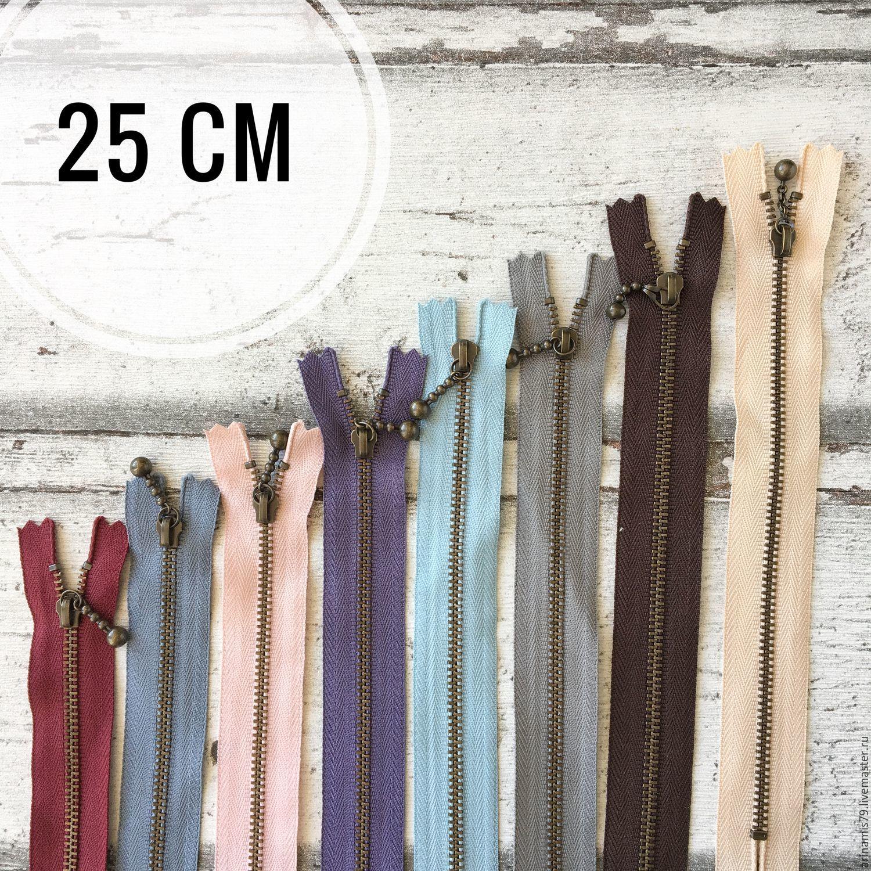 Шитье ручной работы. Ярмарка Мастеров - ручная работа. Купить Японские цветные молнии YKK. 25 см. Handmade. Аппликация