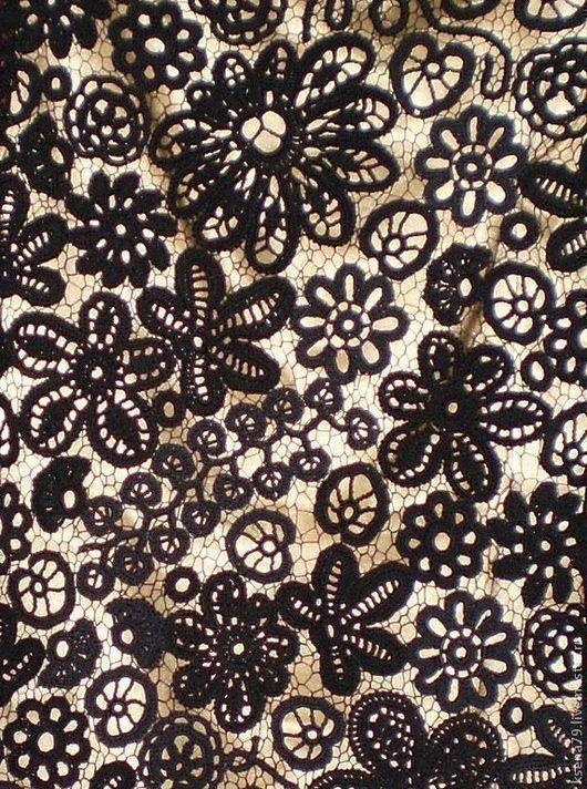 Платья ручной работы. Ярмарка Мастеров - ручная работа. Купить Коктейльное платье из наборного кружева, возможен торг. Handmade. Черное