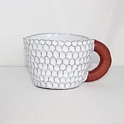 Посуда ручной работы. Ярмарка Мастеров - ручная работа Чашка. Handmade.