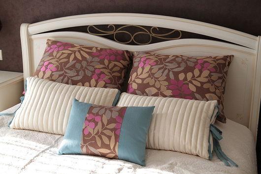 Текстиль, ковры ручной работы. Ярмарка Мастеров - ручная работа. Купить Шторы в спальню Идиллия. Handmade. Индивидуальный пошив, вуаль
