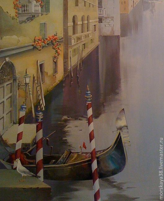 """Город ручной работы. Ярмарка Мастеров - ручная работа. Купить Роспись стен  """"Венеция""""  Роспись стены на заказ. Handmade. Венеция"""