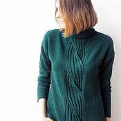Одежда handmade. Livemaster - original item Cashmere sweater Harness. Handmade.