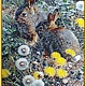 Tapestry beaded. BUNNIES DANDELIONS. Pictures. Elena Borkova (divelen). Online shopping on My Livemaster.  Фото №2