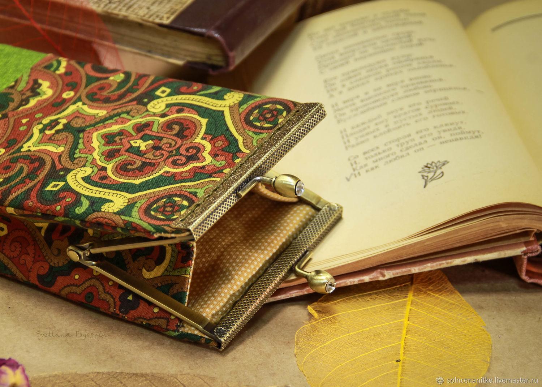 Аксессуары ручной работы. текстильные аксессуары. Косметички, сумочки, чехлы, очечники от Мастерской Солнце на нитке (Светлана Погосян)