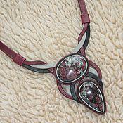 Necklace handmade. Livemaster - original item - Jewelry eudialyte. Handmade.