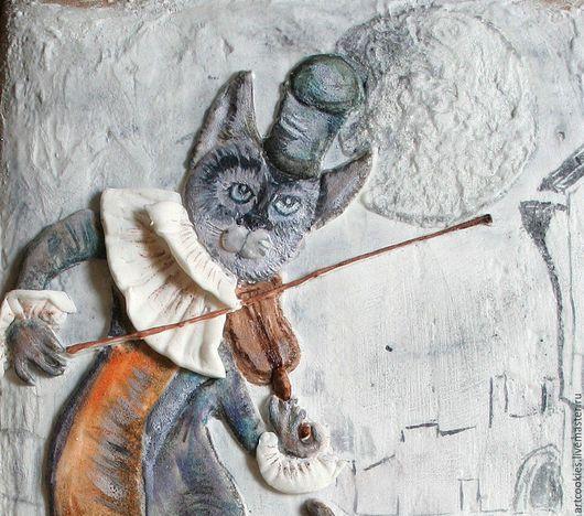 Кулинарные сувениры ручной работы. Ярмарка Мастеров - ручная работа. Купить Пряник Луна на смычке. Handmade. Комбинированный, пряники