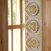 Зеркала ручной работы. Ярмарка Мастеров - ручная работа Зеркало в керамической раме в нежно-зелёных тонах. Handmade.