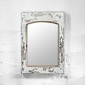 Для дома и интерьера ручной работы. Ярмарка Мастеров - ручная работа Зеркало в деревянной раме с эффектом старой краски. Handmade.