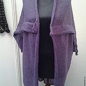 Одежда ручной работы. Ярмарка Мастеров - ручная работа Кардиган, жилет, трансформер. Handmade.