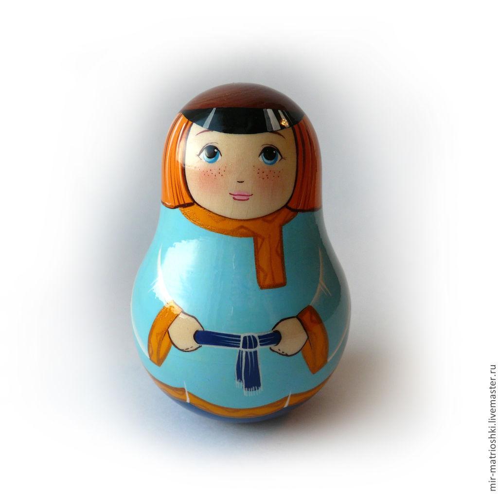 Tumbler with ringing 'Alyosha Matroskin' 1, Dolls1, Sarov,  Фото №1