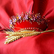 Украшения handmade. Livemaster - original item tiaras: The Headdress